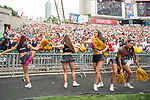 Atmosphere during the HSBC Hong Kong Rugby Sevens 2017 on 08 April 2017 in Hong Kong Stadium, Hong Kong, China. Photo by Marcio Rodrigo Machado / Power Sport Images