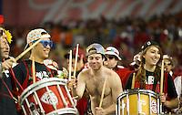 STANFORD, CA - January 2, 2012: Stanford band members at the Fiesta Bowl at University of Phoenix Stadium in Phoenix, AZ. Final score Oklahoma State wins 41-38.