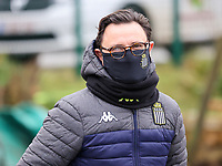 Head Coach Philippe Venturoso (Charleroi) pictured before a female soccer game between FC Femina White Star Woluwe and Sporting Charleroi on the 10 th matchday of the 2020 - 2021 season of Belgian Scooore Womens Super League , Saturday 19 th of December 2020  in Woluwe , Belgium . PHOTO SPORTPIX.BE | SPP | SEVIL OKTEM