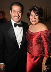 Harris County Sheriff Adrien Garcia and his wife Monica at Celebrating 40 Years: University of Houston- Downtown Gala at the JW Marriott Downtown Friday Jan. 23,2015.(Dave Rossman For the Chronicle)