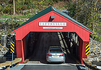 Taftville covered bridge, Vermont, USA