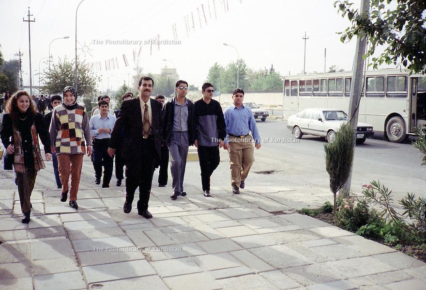 Irak 2000  Etudiants à Erbil   Iraq 2000   Students in Erbil