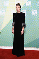 """Mirrah Foulkes<br /> arriving for the """"Judy and Punch"""" london Film Festival 2019 screening at Embankment Gardens, London<br /> <br /> ©Ash Knotek  D3523 12/10/2019"""