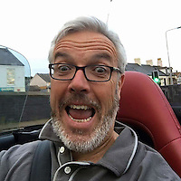 "Pictured: Joe Hawken<br /> Re: A North Wales Police officer has been caught taking a ""selfie"" while driving.<br /> The force investigated after a picture of PC Joe Hawken appeared on Facebook showing him in a convertible car.<br /> PC Hawken, who is based at Holyhead on Anglesey, has been issued with a traffic offence report which will go before the force's administration of justice department to decide how he should be dealt with.<br /> Possible punishments include points, a fine, and in serious cases a ban.<br /> Ch Supt Nigel Harrison has confirmed that a traffic offence report has been submitted in relation to PC Hawken, which he said was ""normal practice for any driver who is suspected of committing a road traffic offence of this nature"".<br /> He added: ""I have met with the officer today to outline my concerns.""<br /> It is understood he has not been suspended."
