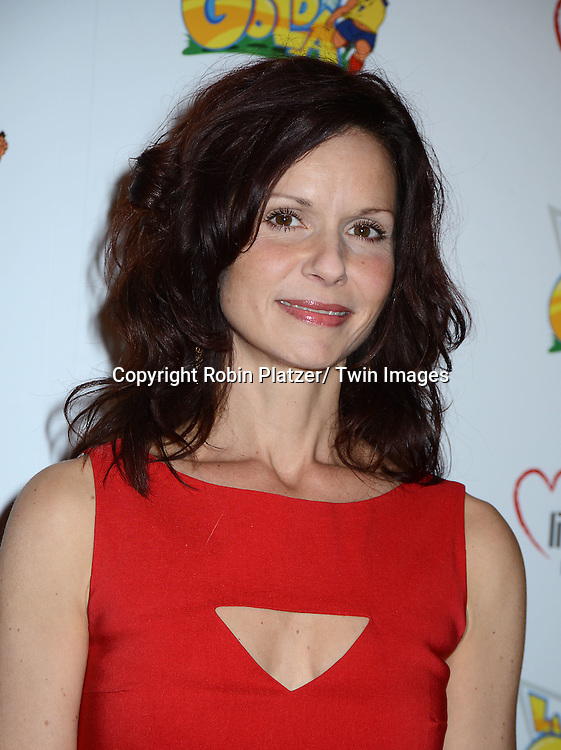 """Florencia Lozano attends the Premiere of """"La Golda"""" which is Judy Reyes' New Animation Project on April 26, 2014 at Lighthouse International in New York City, NY, USA"""