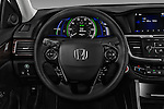 Car pictures of steering wheel view of a 2017 Honda Accord Hybrid 4 Door Sedan Steering Wheel