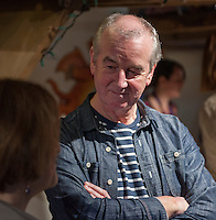 David Almond, writer and patron of Seven Stories, at an evening celebrating the work of Leila Berg and the official opening of her archive at Seven Stories in Newcastle, 19th September 2012.