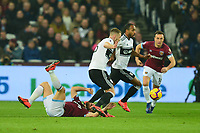Robert Snodgrass of West Ham United is floored during West Ham United vs Fulham, Premier League Football at The London Stadium on 22nd February 2019