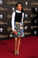 "LOS ANGELES - MAR 1:  Yara Shahidi at the ""Cinderella"" World Premiere at the El Capitan Theater on March 1, 2015 in Los Angeles, CA"