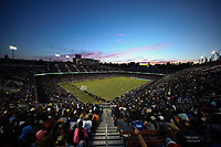 STANFORD, CA - JUNE 29: Stanford Stadium during a Major League Soccer (MLS) match between the San Jose Earthquakes and the LA Galaxy on June 29, 2019 at Stanford Stadium in Stanford, California.
