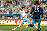 Seattle, WA - Tuesday, July 5, 2016: The Seattle Sounders FC defeated West Ham United 3-0 in an international friendly at CenturyLink Field.