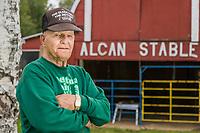 83 year old, long time Alaska resident Hank Dube, Delta Junction, Alaska.
