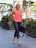 Jenni Falconer at the Global Radio Studios, Leicester Square, London on 9th September 2020<br /> CAP/ROS<br /> ©ROS/Capital Pictures