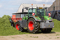 7.5.2021 Clamping grass silage  in Cambridgeshire <br /> ©Tim Scrivener Photographer 07850 303986<br />      ....Covering Agriculture In The UK....