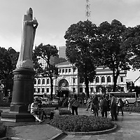 Eiffel post office and cathedral, Ho Chi Minh City, 2019