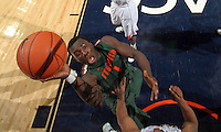 CHARLOTTESVILLE, VA- JANUARY 7: Durand Scott #1 of the Miami Hurricanes shoots the ball during the game against the Virginia Cavaliers on January 7, 2012 at the John Paul Jones Arena in Charlottesville, Virginia. Virginia defeated Miami 52-51. (Photo by Andrew Shurtleff/Getty Images) *** Local Caption *** Durand Scott