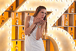 Spanish model Laura Sanchez poses during Licor 43 presentation in Madrid, Spain. January 29, 2015. (ALTERPHOTOS/Victor Blanco)