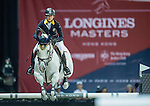 Jacqueline Lai of Hong Kong riding Der Senaat competes during the EEM Trophy, part of the Longines Masters of Hong Kong on 10 February 2017 at the Asia World Expo in Hong Kong, China. Photo by Juan Serrano / Power Sport Images