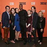 "Steven Levenson, Odessa Young, Lauren Patten, J. Alphonse Nicholson, Tavi Gevinson, Mike Faist and Carole Rothman attend the After Party for the Second Stage Production of ""Days Of Rage"" at Churrascaria Platforma on October 30, 2018 in New York City."