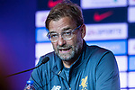 Liverpool FC head coach Jurgen Klopp speaks to the media during a Premier League Asia Trophy Press Conference at Grand Hyatt Hotel on July 21, 2017 in Hong Kong, China. Photo by Marcio Rodrigo Machado / Power Sport Images