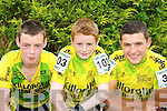 Killorglin cyclists Kealan McGillicuddy, Ronan McCarthy and Cian Corcoran who competed in the Kerry Youth Cycling tour in Beaufort on Saturday   Copyright Kerry's Eye 2008