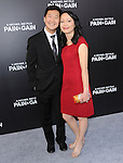 Ken Jeong and his wife at The Paramount Pictures L.A. Premiere of Pain & Gain held at The TCL Chinese Theatre in Hollywood, California on April 22,2013                                                                   Copyright 2013 Hollywood Press Agency