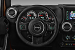 Car pictures of steering wheel view of a 2016 JEEP Wrangler Sahara 5 Door SUV Steering Wheel