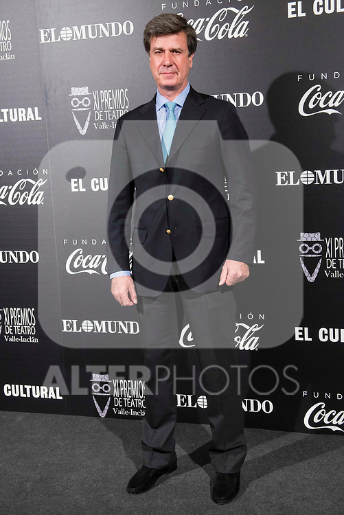 Cayetano Martinez de Irujo attends to the photocall of the ceremony of the Vallen Inclan award at Teatro Real in Madrid, Spain. March 27, 2017. (ALTERPHOTOS/BorjaB.Hojas)