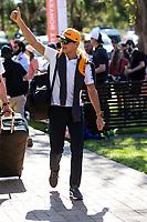 12th March 2020; Melbourne Grand Prix Circuit, Melbourne, Victoria, Australia; Formula One, Australian Grand Prix, Practice Day; McLaren driver Lando Norris