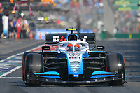 March 16, 2019: Robert Kubica (POL) #88 from the Williams Racing team leaves the pit to start the qualification session at the 2019 Australian Formula One Grand Prix at Albert Park, Melbourne, Australia. Photo Sydney Low