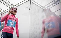 Richard Carapaz (ECU/Movistar)<br /> <br /> Stage 17: Commezzadura (Val di Sole) to Anterselva/Antholz (181km)<br /> 102nd Giro d'Italia 2019<br /> <br /> ©kramon