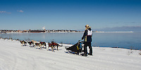 2013 UP200 - The final day of this 240-mile dog sled that takes place in Michigan's Upper Peninsula. Winner Ryan Anderson.