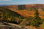 Southwestern view from Cadillac Mountain, Acadia National Park, Maine, USA