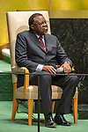 General Assembly Seventy-fourth session, 5th plenary meeting<br /> <br /> His Excellency Hage Geingob, President, Republic of Namibia