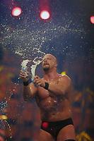 Stone Cold Steve Austin at Wrestlemania 2002                                                                         By John Barrett/PHOTOlink