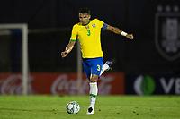 17th November 2020; Centenario Stadium, Montevideo, Uruguay; Fifa World Cup 2022 Qualifying football; Uruguay versus Brazil; Thiago Silva of Brazil