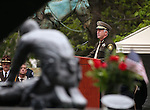 Clark County Sheriff Joe Lombardo speaks at the annual Nevada Law Enforcement Officers Memorial Ceremony on the Capitol Mall in Carson City, Nev., on Thursday, May 7, 2015. T<br /> Photo by Cathleen Allison