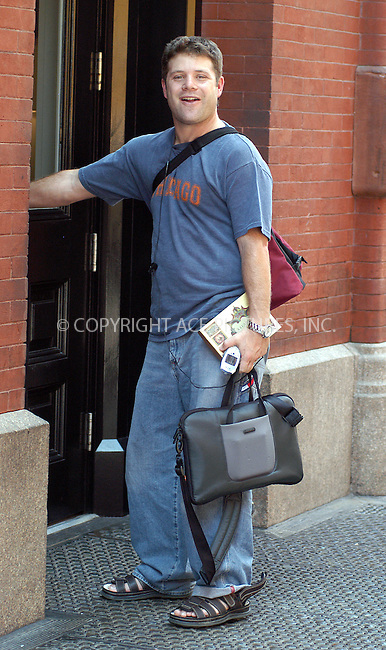 """""""Lord of the Rins"""" star Sean  Astin in New York. August 14, 2003. Please byline: NY Photo Press.   ..*PAY-PER-USE*      ....NY Photo Press:  ..phone (646) 267-6913;   ..e-mail: info@nyphotopress.com"""