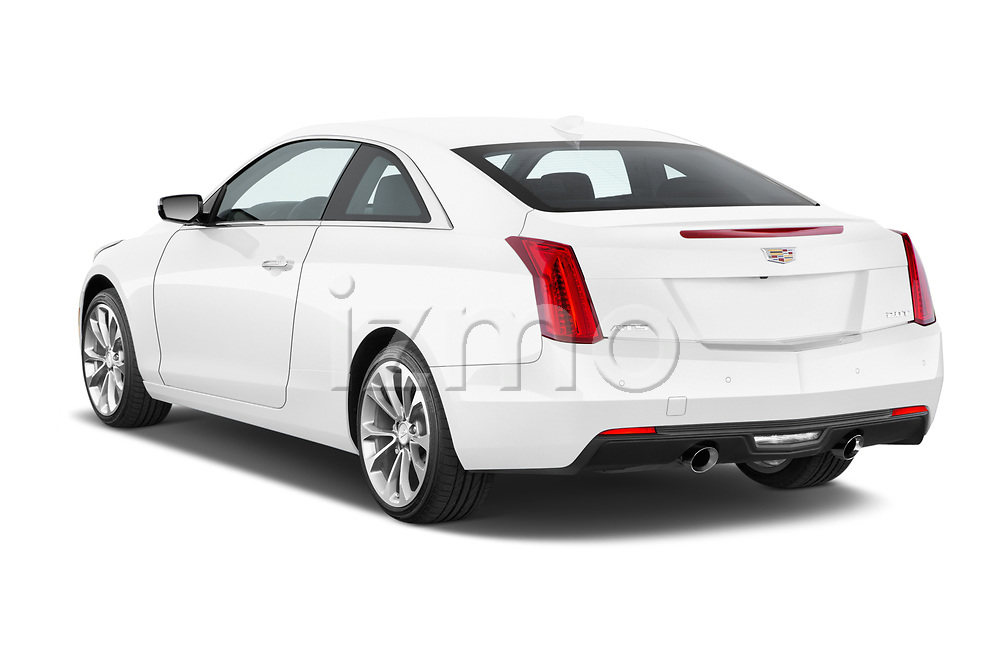 Car pictures of rear three quarter view of 2015 Cadillac ATS 2.0 RWD Premium 2 Door Coupe Angular Rear