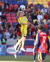 Columbus Crew Forward Steven Lenhart in the Real Salt Lake 1-0 win over Columbus Crew in Game 1 of the Semi-Finals of the MLS Playoffs on October 31, 2009 at  Rio Tinto Stadium in Sandy, Utah