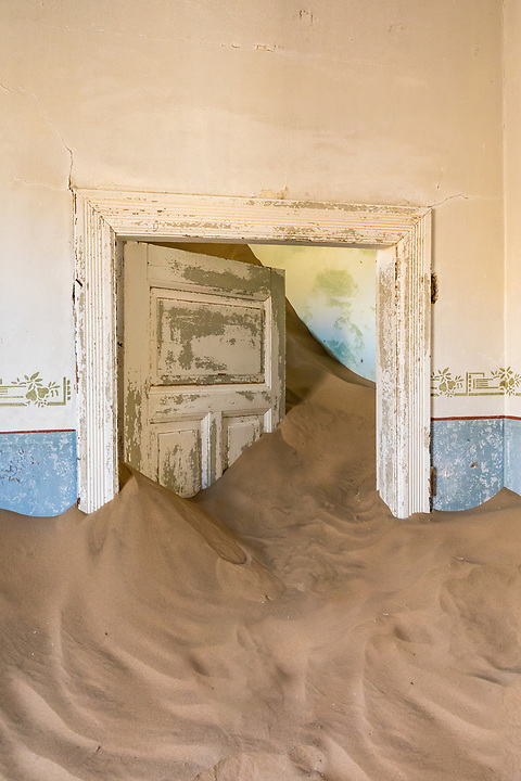 There's No Stopping The Invasion Of Sand, Kolmanskop.
