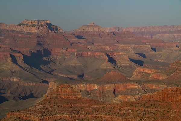 Sunset along the South Rim of Grand Canyon National Park, Arizona .  John offers private photo tours in Grand Canyon National Park and throughout Arizona, Utah and Colorado. Year-round.