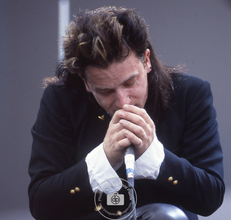 Bono of U2 at Live Aid 1985
