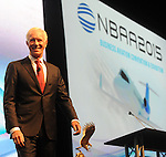 "NBAA Open Session on November 18, 2015 at the Las Vegas Convention Center. Among the highlights were the presentation of the National Aviation Hall of Fame Combs Gates Award to award-winning film maker Kim Furst. Furst received a check for $20,000 for her film, ""Flying the Feathered Edge: The Bob Hoover Project"". This was followed by the announcement of the the NAHF Class of 2016, including Robert L. Crippen, George E. ""Bud"" Day, Christopher C. Kraft, Jr., and Tom Poberezny. Following the presentation of awards, ""Miracle on the Hudson"" pilot Sully Sullenberger provided the keynote address."