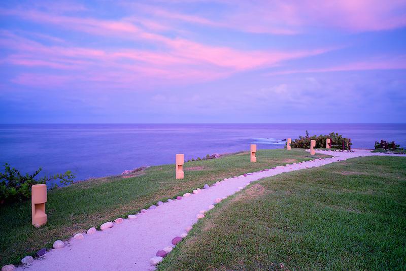 Path at Four Seasons Resort. Punta Mita, Mexico.