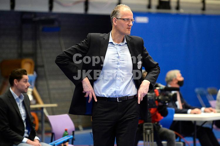 18-04-2021: Volleybal: Amysoft Lycurgus v Draisma Dynamo: Groningen,  Dynamo coach Rebad Strikwerda