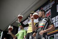 beers&cheers on the podium<br /> <br /> Heistse Pijl 2016