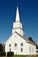 Church, Andover, Vermont, VT, USA