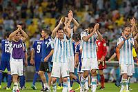 Rio de Janeiro, Brazil - Sunday, June 15, 2014: Argentina defeated Bosnia-Herzegovina 2-1 in World Cup group play at Estádio Maracanã.