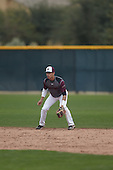 Joab Gonzalez (2) of Puerto Rico HS & BB Acad High School in Arecibo, Puerto Rico during the Under Armour All-American Pre-Season Tournament presented by Baseball Factory on January 15, 2017 at Sloan Park in Mesa, Arizona.  (Kevin C. Cox/Mike Janes Photography)